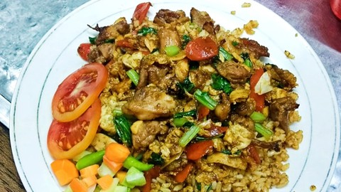 Nasi Goreng Gila - Satriajaya - Makanan Delivery Menu   GrabFood ID